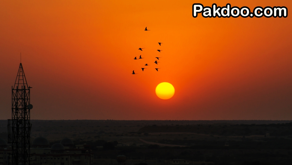 Jaisalmer Sunset Point is the Beautiful place in the Rajasthan for it's ambience environment.