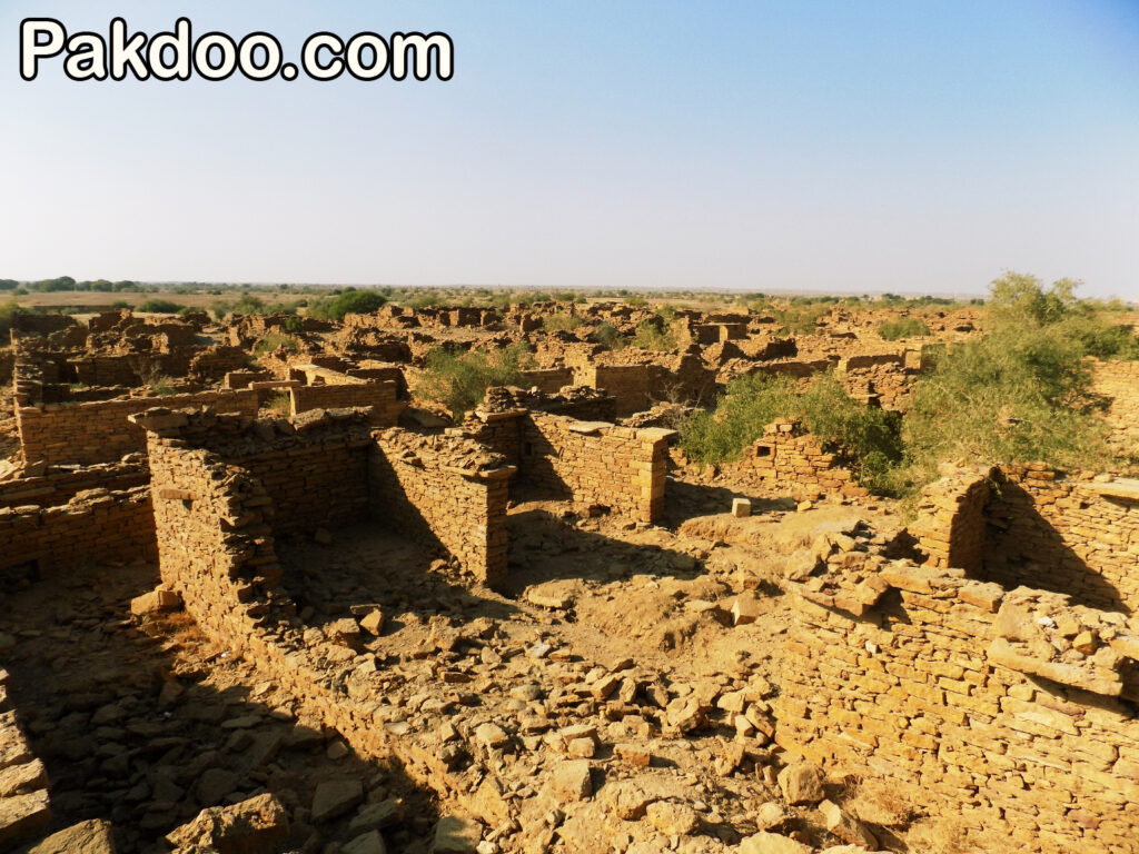 kuldhara is situated in the Jaisalmer and it is famous for ghost city.