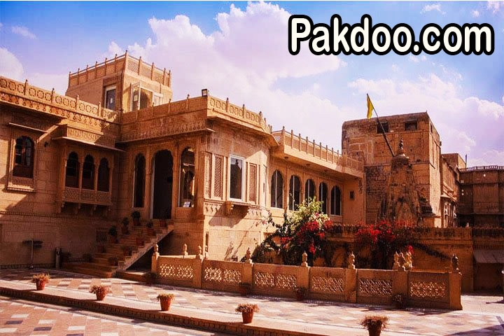 the thar museum heritage is located in main market of jaisalmer. it is a heritage museum.