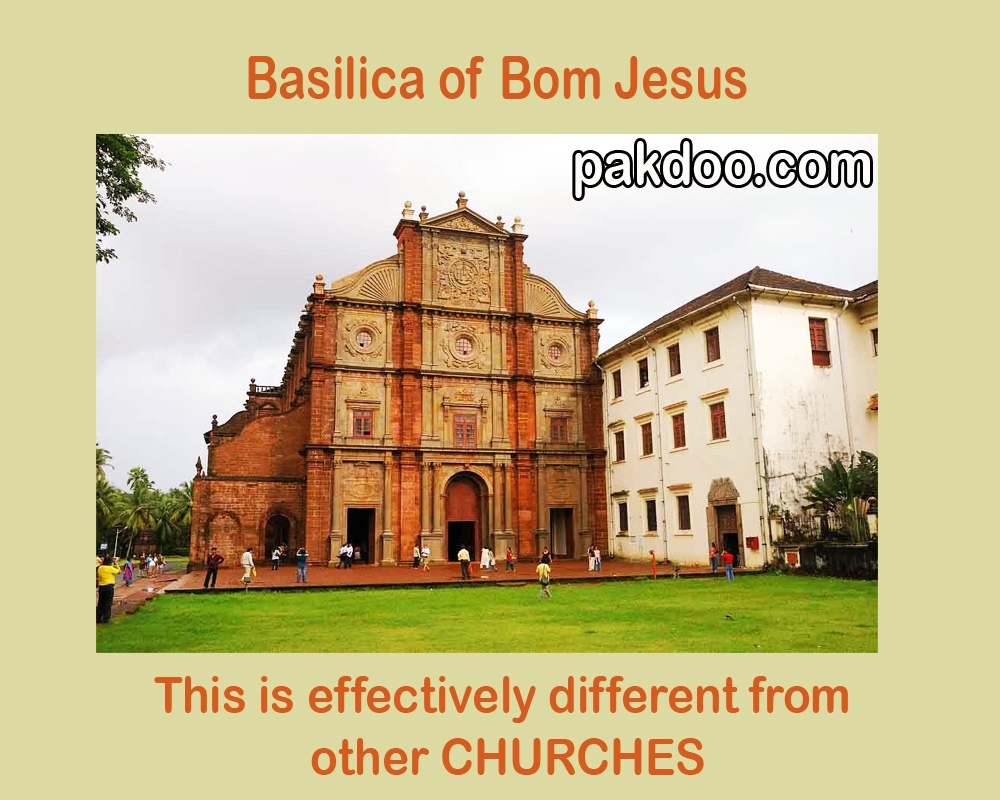this is count in famous churches in goa, basilica of bom jesus is located in 12km. from panaji.