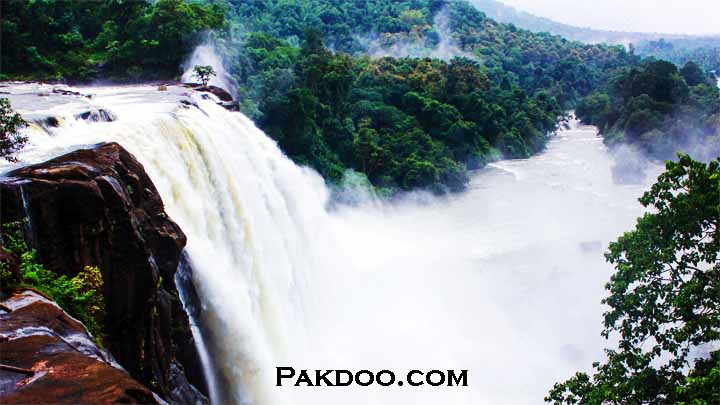Athirappily Water Fall One Of the Places to visit in kerala