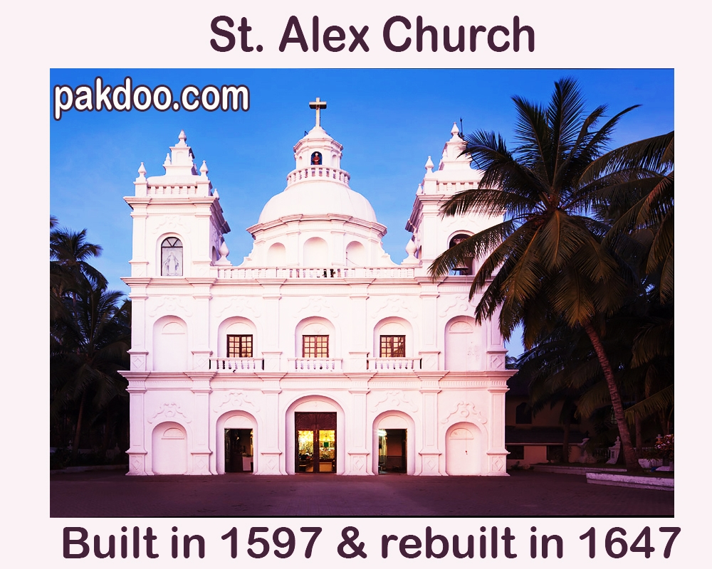 st. alex church is one of  the oldest church in all churches.