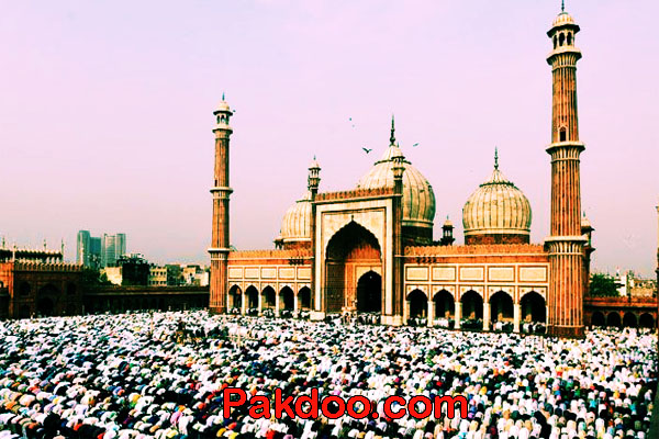 Muslim worshiping place in Delhi-Jama Masjid Oldest mosque for Travelers